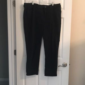 Chico's SO Slimming Tall Ankle Black Jeans